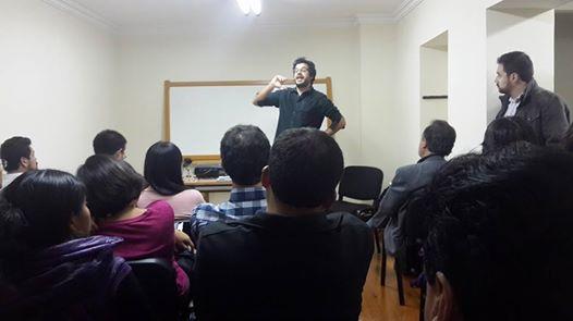 Charla sobre Activismo 20 en la Casa Hacker el 8 de diciembre Foto Iblin Linarez